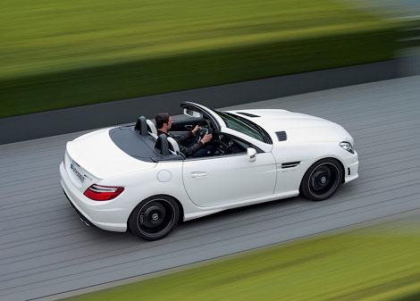 """Компания Mercedes-Benz показала """"заряженный"""" родстер SLK55 AMG"""