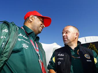 Team Lotus отказалась от партнерства с McLaren в пользу Red Bull