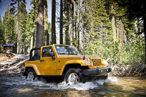 Jeep Wrangler 2012 модельного года будет оснащаться мотором семейства Pentastar. Фото 1