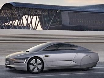 VW привезет во Франкфурт одноместный электрокар