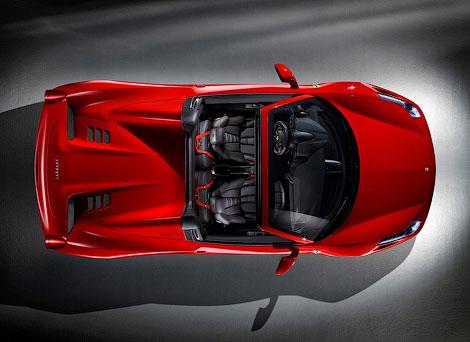 """""""Феррари"""" распространила официальную информацию об открытой версии суперкара 458 Italia"""