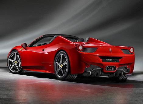 """""""Феррари"""" распространила официальную информацию об открытой версии суперкара 458 Italia. Фото 1"""