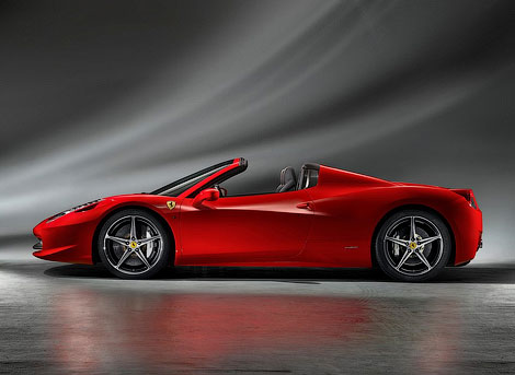 """""""Феррари"""" распространила официальную информацию об открытой версии суперкара 458 Italia. Фото 2"""