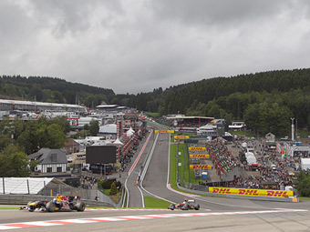 FIA ввела ограничения на использование системы DRS в Бельгии