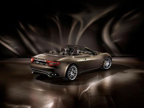 Марка Maserati представила специальную модификацию модели GranCabrio