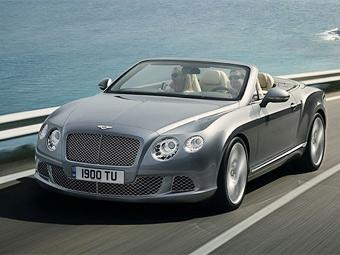 Компания Bentley обновила кабриолет Continental GTC