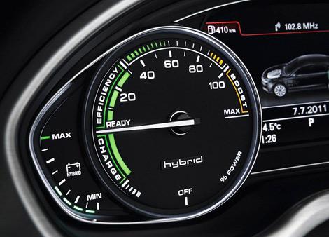 Производство гибридного седана начнется в 2012 году