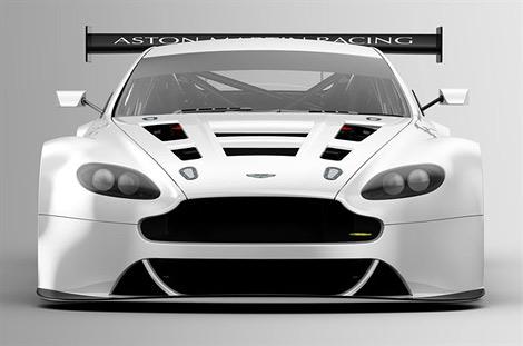 Компания Aston Martin представила гоночную версию суперкара V12 Vantage