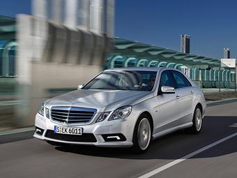 Полноприводный Mercedes E-Class с дизелем добрался до России