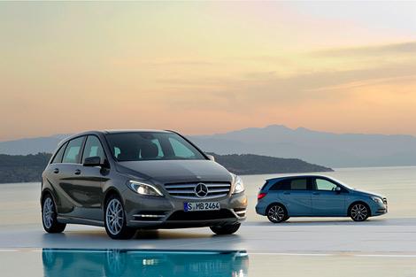 Компания Mercedes-Benz официально представила B-Class следующего поколения. Фото 1