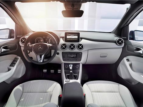 Компания Mercedes-Benz официально представила B-Class следующего поколения. Фото 3