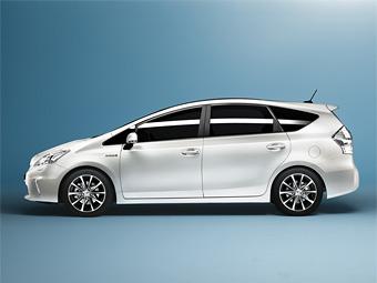 Toyota привезет во Франкфурт семиместный Prius