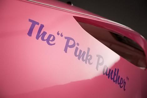 Розовый автомобиль Panthermobile продадут за 100 тысяч фунтов