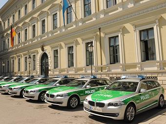 Баварские полицейские получили девять универсалов BMW 5-Series