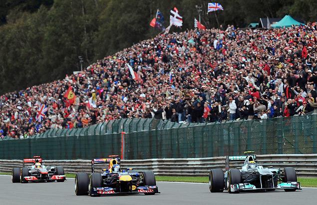 Себастьян Феттель выиграл Гран-при Бельгии. Фото 1