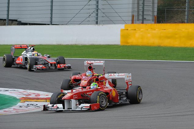 Себастьян Феттель выиграл Гран-при Бельгии. Фото 2