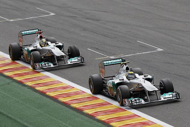 Себастьян Феттель выиграл Гран-при Бельгии. Фото 5