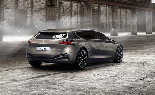 Peugeot привезет во Франкфурт шестиместный концепт-кар