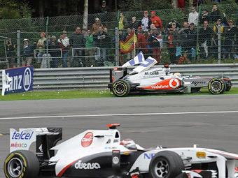 Льюис Хэмилтон извинился за столкновение на Гран-при Бельгии