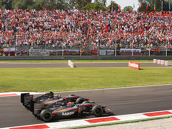 На Гран-при Италии появятся две зоны обгонов