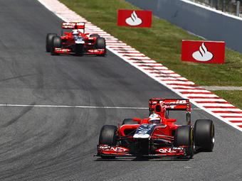 Команда Marussia Virgin поставила рекорд по количеству гонок без очков