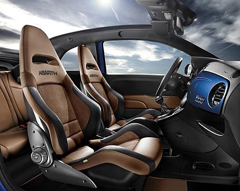 Fiat готовит к дебюту новые спортивные модификации моделей 500 и Punto