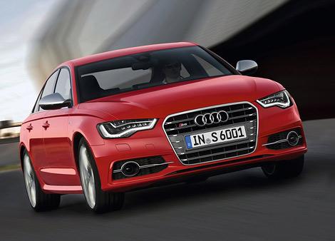 """Компания Audi представила """"заряженные"""" автомобили S6 и S7 Sportback, которые дебютируют в сентябре во Франкфурте"""