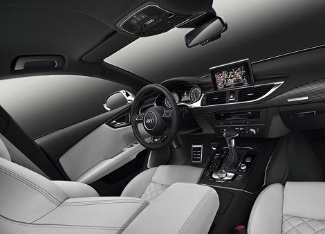 """Компания Audi представила """"заряженные"""" автомобили S6 и S7 Sportback, которые дебютируют в сентябре во Франкфурте. Фото 2"""