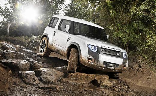 Land Rover показал прототип нового внедорожника