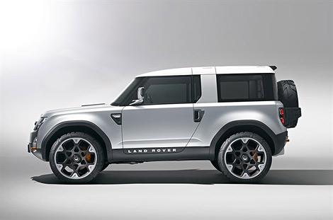 Компания Land Rover представила предвестника модели Defender следующего поколения