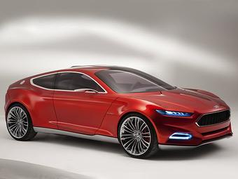 Ford показал дизайн будущих моделей на новом концепте