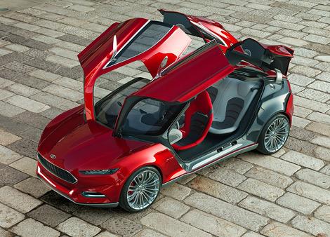 Компания Ford привезет во Франкфурт концептуальное купе