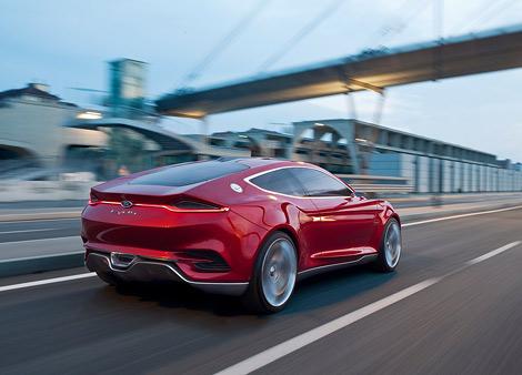 Компания Ford привезет во Франкфурт концептуальное купе. Фото 1