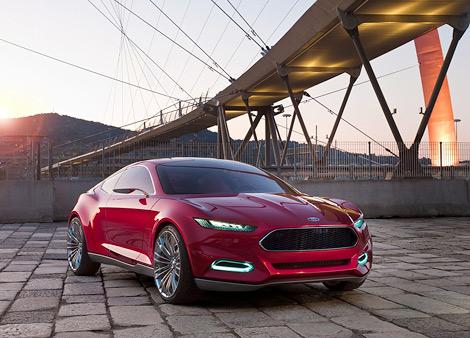 Компания Ford привезет во Франкфурт концептуальное купе. Фото 2