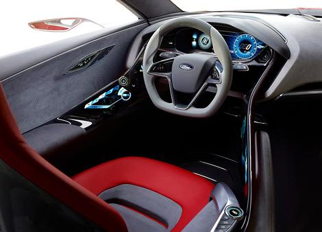 Компания Ford привезет во Франкфурт концептуальное купе. Фото 3
