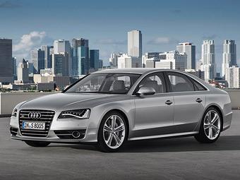 Самый мощный флагманский седан Audi представили официально