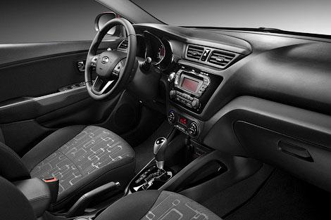 Самый доступный седан Kia Rio будет стоить в России от 459 тысяч 900 рублей. Фото 1