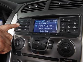 Ford модернизировал систему Sync для работы на немецких автобанах