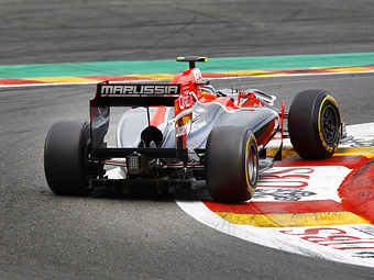 Marussia Virgin обновит заднюю часть болида на Гран-при Италии