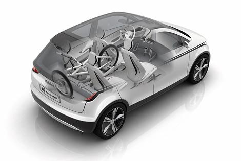 На автосалоне во Франкфурте компания Audi покажет городской электрокар длиной 3,8 метра. Фото 1