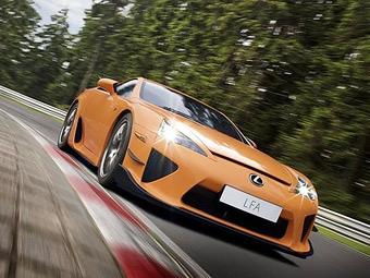 Суперкар Lexus LFA вошел в пятерку быстрейших машин Нюрбургринга