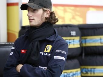 Роман Гросжан провел закрытые тесты болида Renault Формулы-1