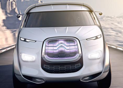 Компания Citroen представила концепт-кар под названием Tubik