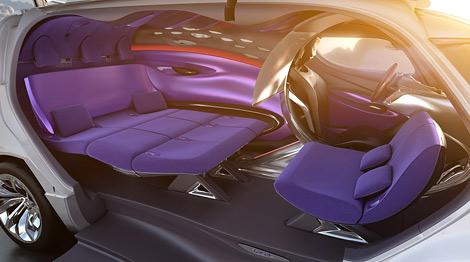 Компания Citroen представила концепт-кар под названием Tubik. Фото 1
