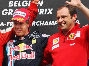 Глава Ferrari отказал Феттелю в праве называться лидером команды