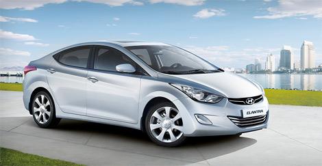 Компания Hyundai назвала стоимость модели Elantra нового поколения для российского рынка