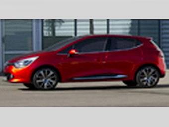 Изображение нового Renault Clio попало в сеть