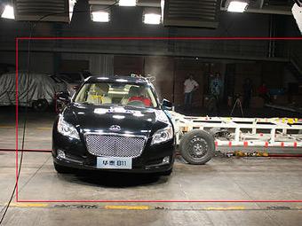 Китай провел пять краш-тестов по системе Euro NCAP