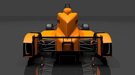 Фирма FondTech представила прототип электрического гоночного автомобиля. Фото 2