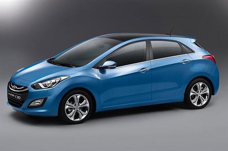 Компания Hyundai распространила первые изображения хэтчбека i30 нового поколения